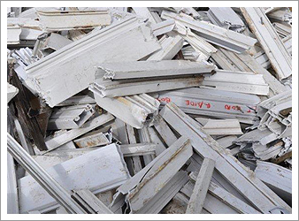 Recycling upvc frames